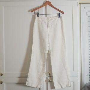 Breezy wide leg linen pants